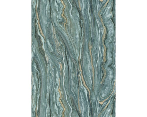 Papier peint intissé 10149-36 ELLE Decoration marbre vert