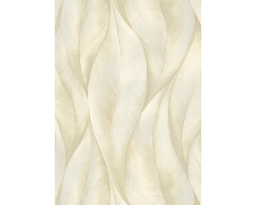 Papier peint intissé 10148-14 GMK ondulations crème