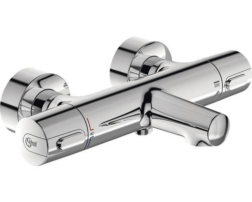 Mitigeur de baignoire à thermostat Ideal STANDARD Ceratherm 100 chrome A4623AA