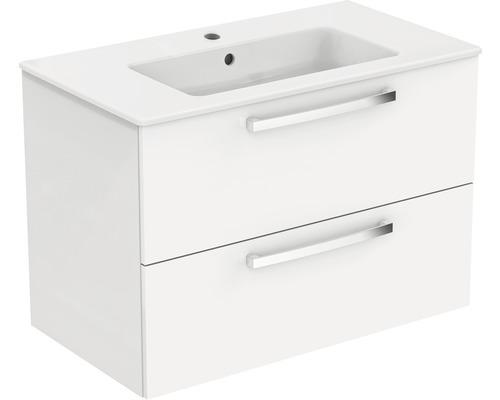 Ensemble de meubles de salle de bains Ideal Standard Eurovit Plus blanc à haute brillance 81,5 cm K2978WG
