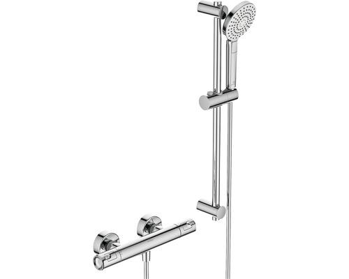 Ensemble de douche Ideal STANDARD Ceratherm T50 longueur de la barre de douche 60 cm avec robinet thermostatique