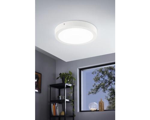 Plafonnier LED RGB CCT blanc à intensité lumineuse variable 21W 2700 lm 2765 K blanc chaud Ø 300 mm