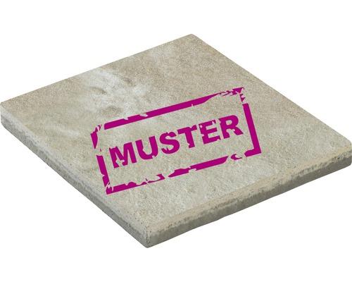 Échantillon de dalle de terrasse en béton iStone Premium calcaire coquillier