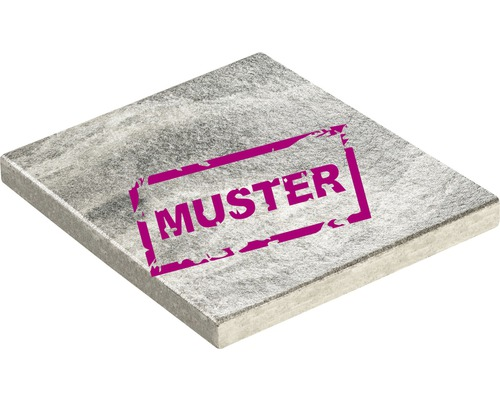 Échantillon de dalle de terrasse en béton iStone Fashion Nature gris moyen