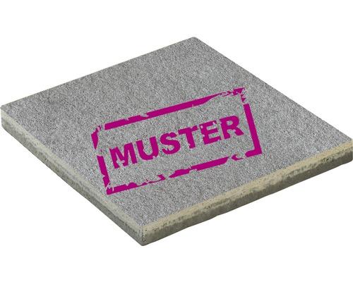 Échantillon de dalle de terrasse en béton iStone Premium gris moyen
