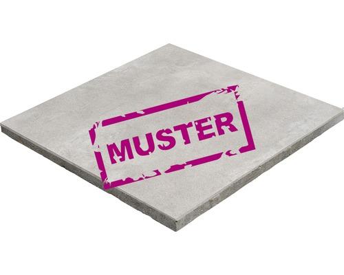 Échantillon de dalle de terrasse en béton iStone Duocera Concreto quartzite