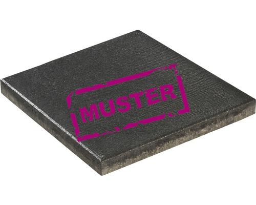 Échantillon de dalle de terrasse en béton iStone Maxi basalte