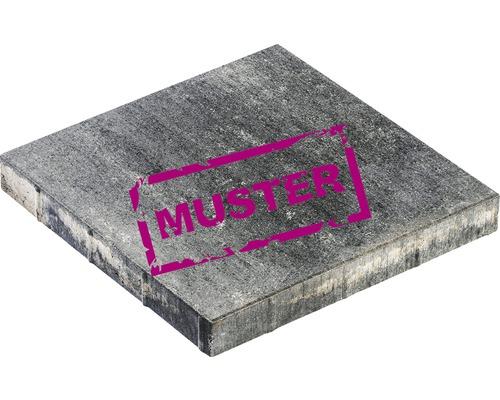 Échantillon de dalle de terrasse en béton iStone Modern Plus graphite