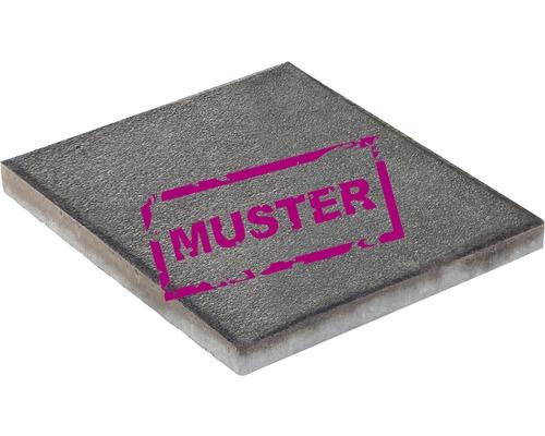 Échantillon de dalle de terrasse en béton iStone Basic noir-basalte