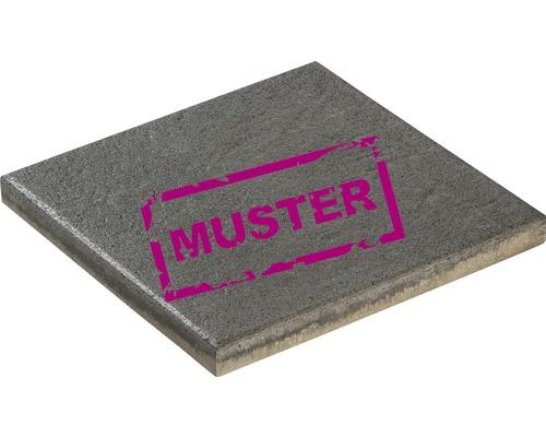 Échantillon de dalle de terrasse en béton iStone Style basalte gris