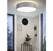 Plafonnier LED RGB CCT à intensité lumineuse variable effet cristal 33W 3500 lm 2700-6500 K blanc chaud - blanc naturel Crosslink gris blanc hxØ 150x570 mm avec télécommande-thumb-0