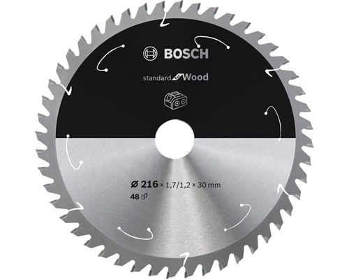 Lame de scie circulaire Standard for Wood B 216x30 mm Z48