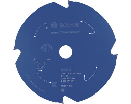Lame de scie circulaire Expert for Fiber Cement H 160x20 mm Z4