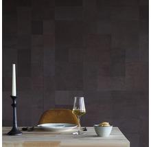 Plaque murale cuir Ebony Patchwork kit de 34 pces-thumb-4