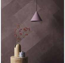 Plaque murale cuir Ebony 8 pces 25x50 cm-thumb-2