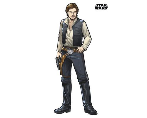 Sticker mural Star Wars XXL Han Solo 127 x 196 cm