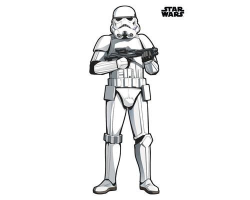 Sticker mural Star Wars XXL Stormtrooper 127 x 188 cm
