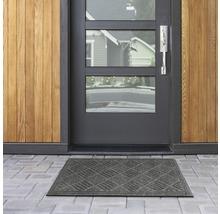 Tapis éco Contures noir 80x120 cm-thumb-2