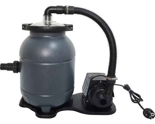 Groupe filtrant Planet Pool 4,5m³/h Best Clean Easy avec balles de filtration ChenmoFlow (350g)