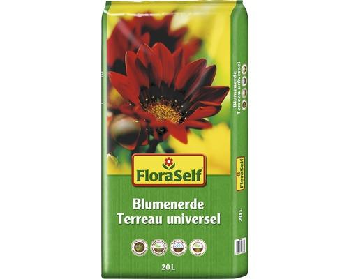 Blumenerde FloraSelf, 20 L