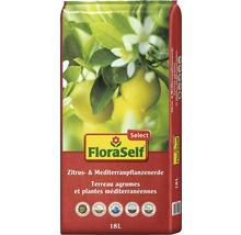 Zitrus- und Mediterranpflanzenerde FloraSelf Select 18 L-thumb-0