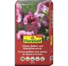Balkon- und Kübelpflanzenerde FloraSelf Select 50 L-thumb-0