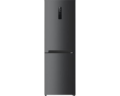 Réfrigérateur-congélateur Wolkenstein WKG315NF BSS-M lxhxp 60 x 185 x 69 cm compartiment de réfrigération 219 l compartiment de congélation 104 l