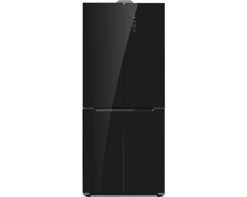 Réfrigérateur multi-portes Wolkenstein WCD400A++NF BG lxhxp 75.30 x 184.70 x 68 cm compartiment de réfrigération 259 l compartiment de congélation 120 l