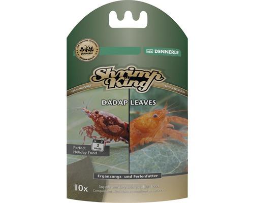 Complément alimentaire, nourriture de vacances DENNERLE ShrimpKing Dadap Leaves
