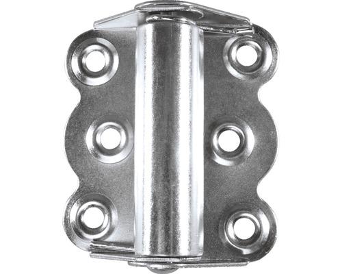 Charnière à fermeture automatique 73x65mm, galvanisé
