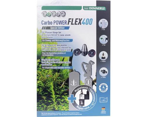 Kit de fumure CO2 pour plantes DENNERLE CarboPOWER Flex400 Special Edition