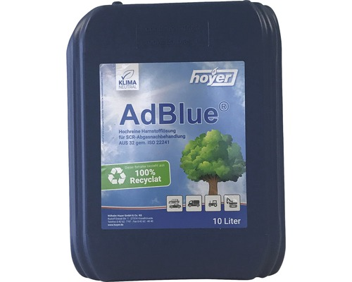 Bidon AdBlue® Hoyer 10 l sans bec verseur