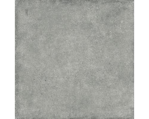 Dalle de terrasse en grès cérame fin Rock light grey 59,3 x 59,3 cm