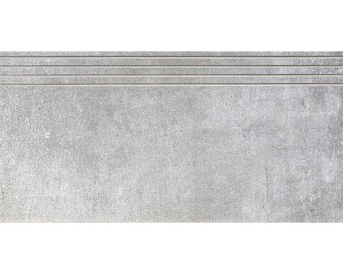Carrelage de marche Metropolitan light grey 30 x 60 cm