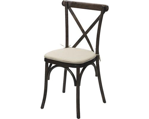 Galette de chaise VEBA pour chaise Crossback beige
