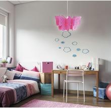 Suspension pour chambre d''enfant Vlinder 1 ampoule rose fuchsia-thumb-0