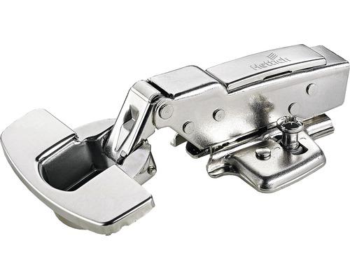 Charnière à boîtier Sensys avec amortissement intégré, butée de paroi centrale Ø 35 mm, 2 unités