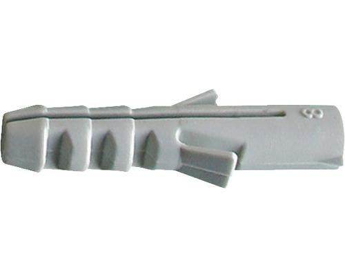 Cheville nylon 6mm, 100 unités