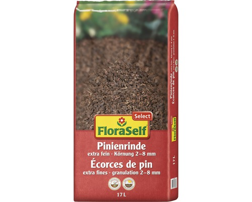 Écorces de pin FloraSelf Select extra fin 2-8mm 17L