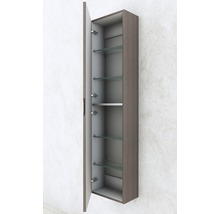 Armoire haute 35x140x20 chêne soft-thumb-3