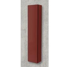 Armoire suspendue 200x100x14 cm rouge à haute brillance-thumb-1