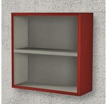 Étagère 40x40x15 cm rouge à haute brillance-thumb-1