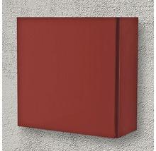 Armoire suspendue 40x40x17 cm 1 porte rouge à haute brillance-thumb-1