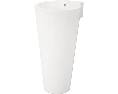 Colonne de lavabo Jungborn Astera blanche 43x53 cm