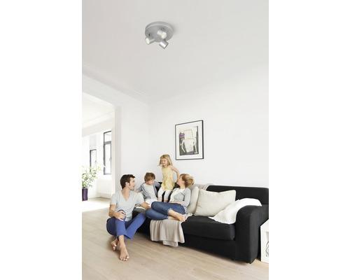 Spot de plafond LED Cyl aluminium 3 x 4 W