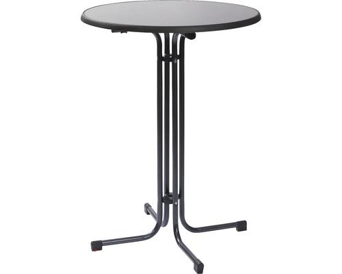 Table haute table de fête VEBA Berlin 70 x h 110 cm anthracite