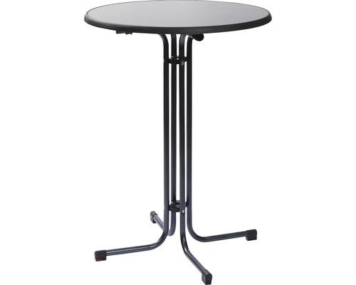 Table haute table de fête VEBA Berlin 80 x h 110 cm anthracite