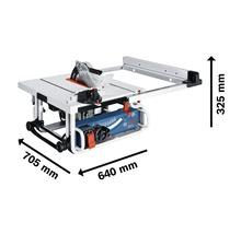 Tischsäge Bosch Professional GTS 10 J inkl. 1 x Kreissägeblatt (Optiline Wood, 254 x 2,8/1,8 x 30 mm, 24 Zähne) und Zubehör-thumb-5