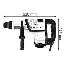 Bohrhammer mit SDS max Bosch Professional GBH 8-45 D inkl. Handwerkerkoffer, Spitzmeißel und Zusatzgriff-thumb-5