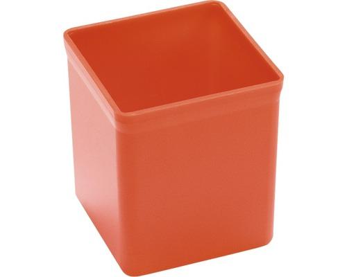 Boîte en plastique rouge L:54xl:54xH:63mm